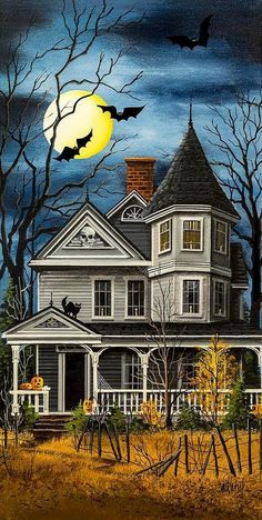 TrickTreat haunted house.