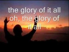 """""""Oh the Glory of it All"""", David Crowder Band Music Lyrics, Music Quotes, Music Songs, Music Videos, Worship Songs, Praise And Worship, Beautiful Songs, Love Songs, Carole King Music"""