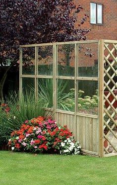 Patio ideas on pinterest budget patio patio ideas and for Garden windbreak designs