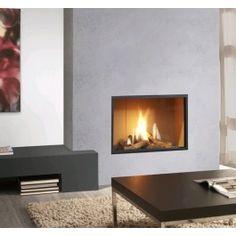 De #GlobalFires 70 BF is een royale fronthaard met gesloten verbranding. #Interieur #Fireplace #Fireplaces #Kampen #Gashaard #Gaskachel