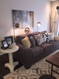 Mike and Lori's Family Room | Marquis Wool Rug from west elm