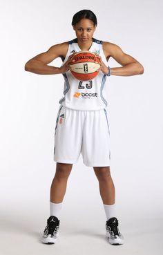 Maya Moore wearing Jordan Aero Mania