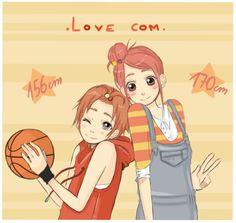 Height doesn& matter ~~~ Atsushi Otani , Koi, Lovely Complex Anime, Kimi Ni Todoke, Cardcaptor Sakura, Anime Ships, Manga, Shoujo, Live Action, Anime Guys