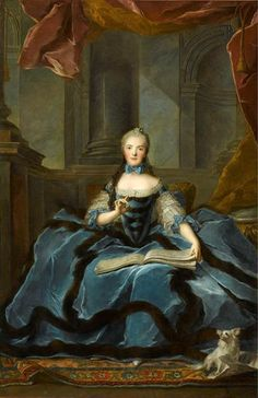 Jean-Marc Nattier - Madame Adélaide (1758)