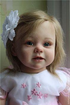 Dolls reborn babies and handmade. Fair Masters - handmade Bonnie. Handmade.