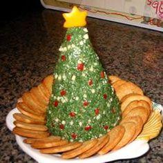 holiday, xmas trees, christmas recipes, dip recip, chees ball, spinach dip, spinach chees, cheese ball recipes, christmas trees
