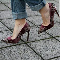 Pump High Heel Zara Court Statement Shoe