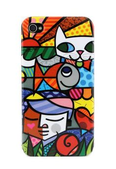 1st: I don't have an iPhone 4  2nd: I want this madly!!!!   BRITTO GARDEN iPhone 4 Cover $35.00