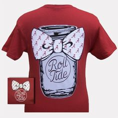 Crimson Tide Alabama ROLL TIDE T-Shirt $16.99