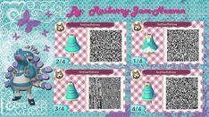 Festival Dress: Animal Crossing qr design by Rasberry-Jam-Heaven on DeviantArt