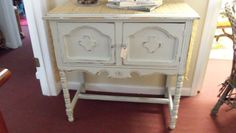 Want to paint my antique sewing machine cabinet just like this!