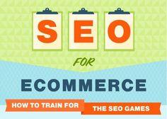 Infografica e-commerce: il Seo per l'e-commerce, ottimizzazione e consigli