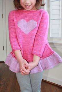 Tutu Top Ravelry: Tutu Top pattern by Lisa Chemery Quick Knitting Projects, Kids Knitting Patterns, Knitting For Kids, Knitting Designs, Crochet Patterns, Cardigan Pattern, Top Pattern, Free Pattern, Baby Girl Crochet