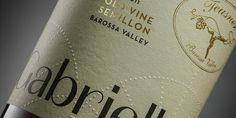 Teusner 'Gabrielle' Old Vine Semillon — The Dieline - Branding & Packaging