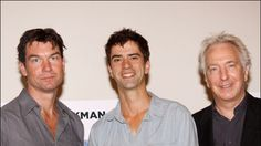 Jerry O'Connell, Hamish Linklater and Alan Rickman