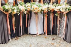 bouquets + ribbons