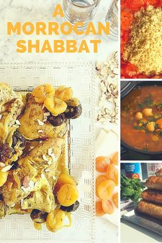 Moroccan Spiced Chicken Dinner. Every year we put together an entire Shabbat menu with all the recipes. Get it here!