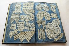 Ever seen a book like this? 😯  Check of this lovely piece 'from the collection'. A book of crochet samples, mounted on chintz. The book consists of 37 pages, 25 of which feature 3-4 samples of crochet on each. 🧶 📖  Crochet sample books were popular in the late 1800's and early 1900's, and provided a way to record patterns and share them with others. A crocheter added to their collection by exchanging samples with friends and relatives, or by copying them.  #howickhistoricalvillage… Popular, Patterns, Friends, Crochet, Check, Books, Collection, Instagram, Block Prints