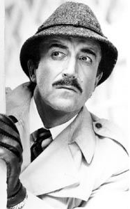 Peter Sellers as Inspector Jacques Clouseau in The Pink Panther series