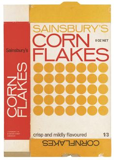 Sainsbury's Corn flakes  http://www.fuel-design.com/index.php?menu=3&pic=287&detail=1