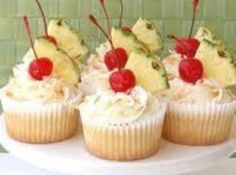 Pina Colada--use this recipe for frosting only
