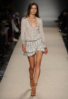Isabel Marant Paris Fashion  Week-2013 Indian-Inspiration