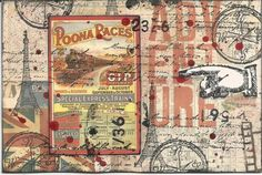 Mail art by Notinkansas of ATC's For All. Click to view original