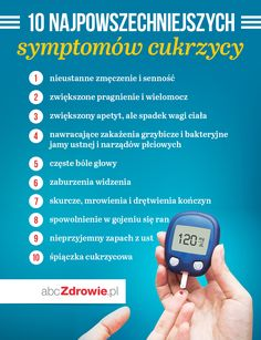 Symptomy cukrzycy - sprawdź, czy nie jesteś zagrożony