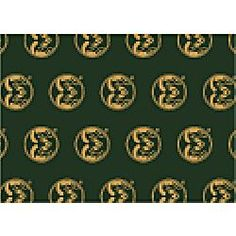 Colorado State Rams College Team Repeat 3x5 Rug from Miliken