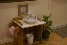 The Well Examined Life: Montessori Hand Washing Station