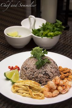 Chef and Sommelier: Thai Olive Fried Rice (Kao Pad Nahm Liap)