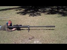 20mm sniper rifle, holy recoil batman!