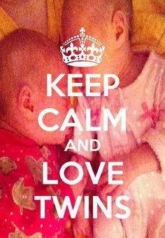 Twins :) I absolutely love love my identical twin nieces!!!!!!!