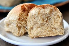 Whole Wheat Dinner Rolls - To serve immediately, bake at 375° for 15-18 minutes. To freeze for later use, partially bake at 300° for 15 minutes. Allow to cool; freeze. Reheat frozen rolls at 375° for 12-15 minutes or until browned.