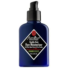 Shop Jack Black& Double-Duty Face Moisturizer Broad Spectrum SPF 20 at Sephora. This moisturizer acts as a sunscreen and an advanced facial treatment. Homemade Face Moisturizer, Moisturizer For Oily Skin, Anti Aging Treatments, Facial Treatment, Jack Black, Broad Spectrum, Best Face Products, Facial Products, Skin So Soft