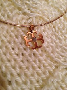 Custom made french cross pendant saint marys college saint marys yellow gold french cross necklace with diamond buy at adesignandsons mozeypictures Image collections