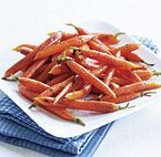 Maple Pan-Roasted Baby Carrots