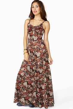 Wild In The Woods Maxi Dress