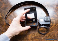 GoPro Leather Case by New Woodman: Unboxing, Review & Tips | Click Like This