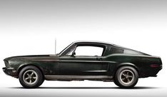 8negro: Ford Mustang Fastback de 1968 | Bullit+Steve McQue...