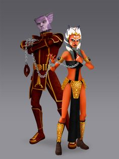 Ahsoka as Zygerrian Slave Skug (Clone Wars) by Brian-Snook on DeviantArt - Star Wars Clones - Ideas of Star Wars Clones - star wars rebels ahsoka Star Wars Mädchen, Star Wars Girls, Star Wars Rebels, Asoka Tano, Star Wars Concept Art, Star Wars Images, Clone Trooper, Star Wars Characters, Stars