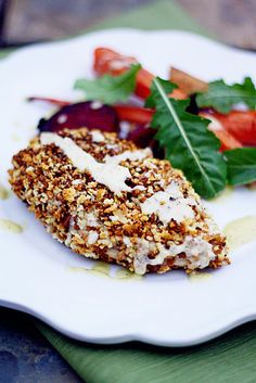 The REAL secret to crispy baked chicken! - Crispy Baked Chicken with Parmesan Vinaigrette  insockmonkeyslippers.com