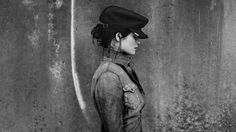 Loved this collab - Gemma Arterton for G Star Raw.