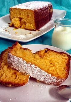 Bizcocho de limón en panificadora | La Caja de las Delicias Bread Machine Recipes, Bread Recipes, Delicious Magazine, Pan Dulce, Pan Bread, Almond Cakes, Dessert Recipes, Desserts, Sin Gluten