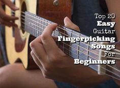 top 20 easy guitar fingerpicking songs for beginners