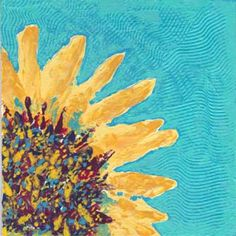 Day 24. 8 x 8 in. Acrylics on canvas panel. © 2015 Sheila Delgado