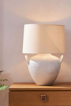 Amber Lewis for Anthropologie Marana Table Lamp Wood Texture, Natural Texture, Table Lamps For Bedroom, Ceramic Table Lamps, Milk Jug, Electrical Outlets, One Light, Amber, Anthropologie