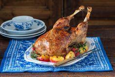 Roast feast goose