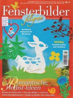 Fensterbilder /filigran no 3 -- paper cutout patterns Free Magazines, Magazines For Kids, Diy For Kids, Crafts For Kids, Arts And Crafts, Magazine Crafts, Silhouette Curio, Make Do And Mend, Paper Stars