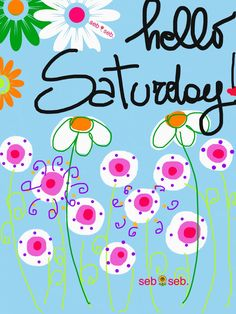 Retro Hello Saturday – Fit for Fun % Happy Saturday Quotes, Happy Day Quotes, Saturday Greetings, Good Morning Saturday, Hello Saturday, Lazy Saturday, Hello Weekend, Its Friday Quotes, Good Morning Good Night